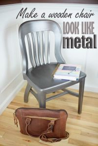 155 best images about Metallic Paint Furniture on ...