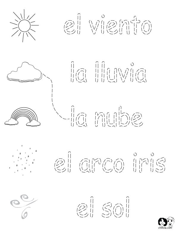 131 best images about Spanish Worksheets for Children