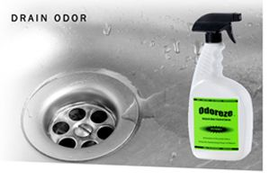 Remove drain smell using the power of nature. Odoreze
