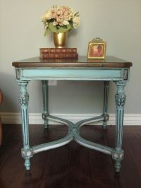 Painted Furniture : Table : Blue : European Paint Finishes ...