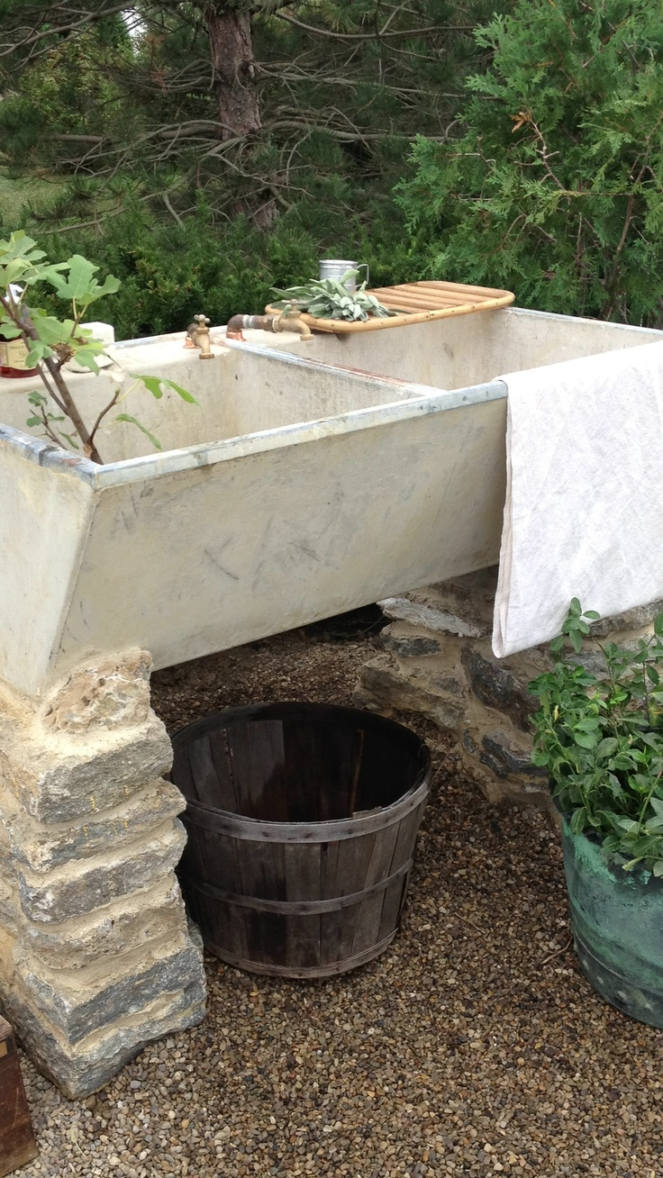 1000 images about Outdoor Sinks on Pinterest  Gardens