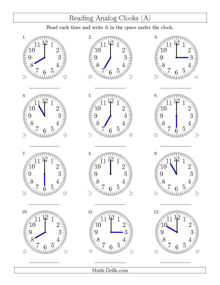 25+ best ideas about Analogue Clocks on Pinterest