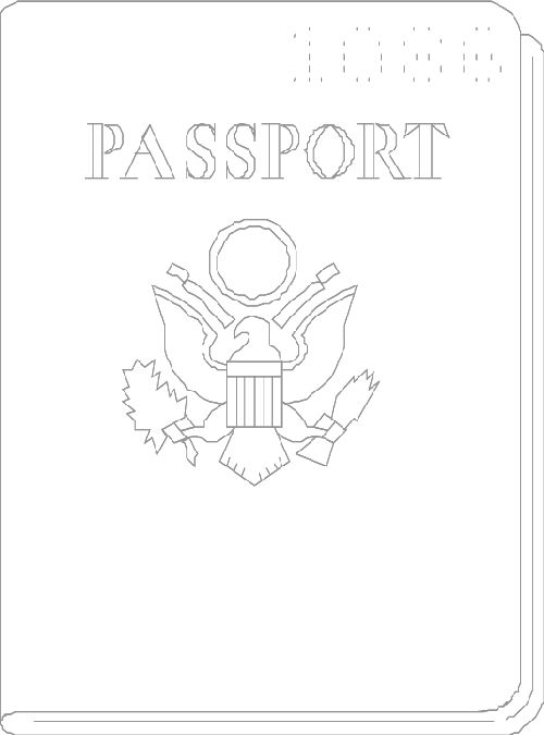25+ best ideas about Passport Template on Pinterest