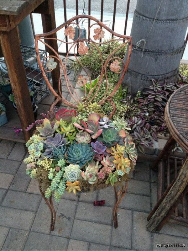 17 Best Creative Garden Ideas On Pinterest Patio Birdcage Decor