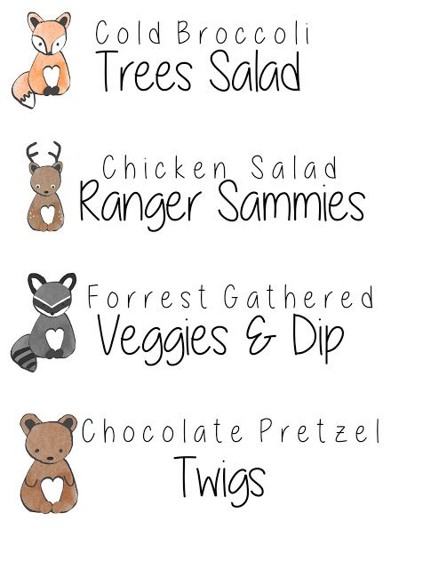 17 Best ideas about Woodland Baby Showers on Pinterest