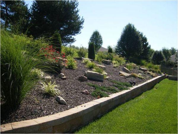 hillside landscaping landscape