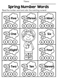 25+ best ideas about Number words on Pinterest | Math ...
