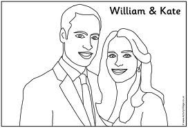17 Best images about Kate middleton colouring pages on