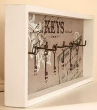 25+ best ideas about Key holder for wall on Pinterest