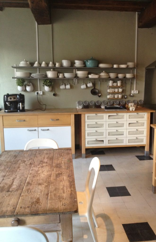 country shelves for kitchen hideaway table french kitchen, ikea shelves, varde | küche ...