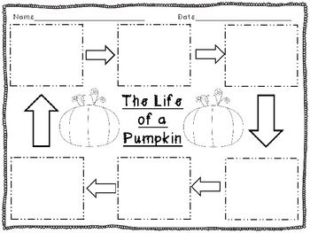 1000+ images about Gr 1/2 pumpkins on Pinterest
