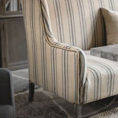 Cotton Wingback Chair Covers Nursery Rocking Australia Toys R Us 25+ Best Ideas About Ticking Fabric On Pinterest | Farmhouse Pillowcases And Shams, ...