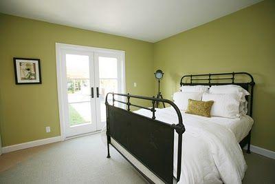 Farrow Amp Ball Churlish Green Great With Bold White And