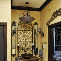 more wrought iron wall decor | Mediterranean Style ...