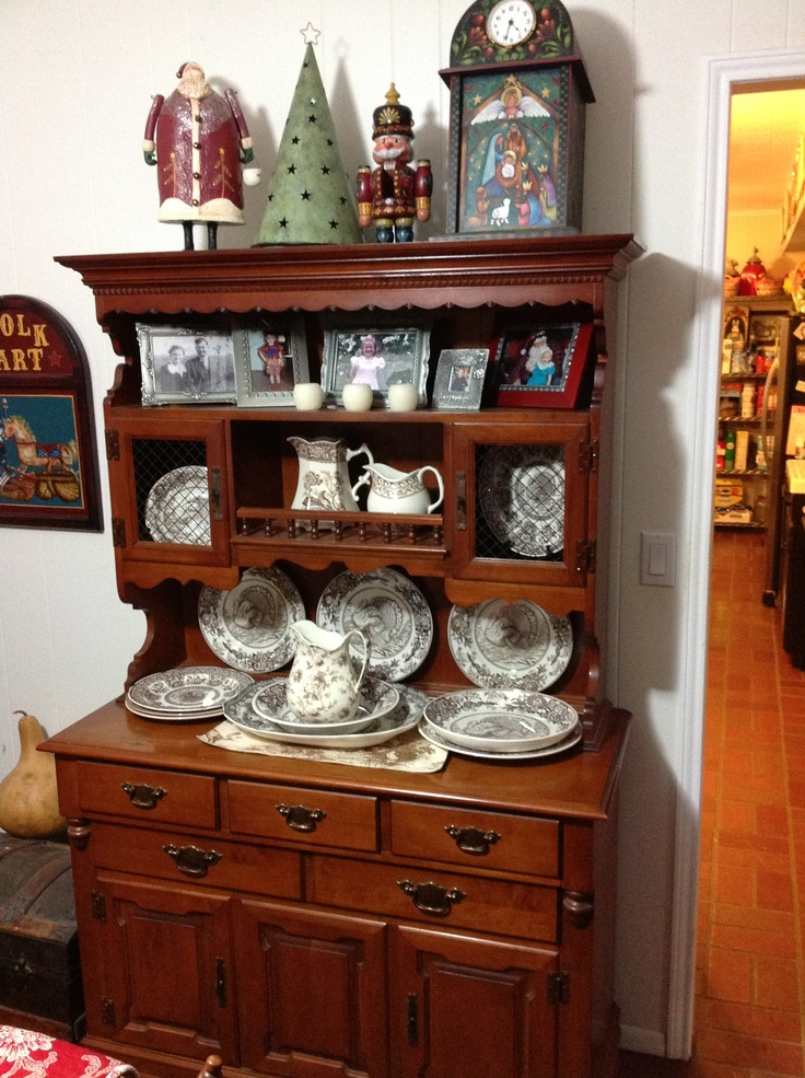 Tell City Hutch and buffet  My Tell City Furniture