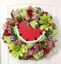 25+ Best Ideas about Summer Door Wreaths on Pinterest ...