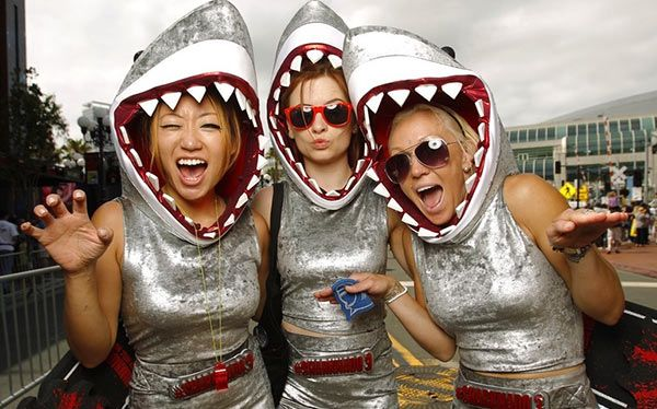 25+ Best Ideas About Shark Costumes On Pinterest