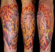 flame tattoos ideas