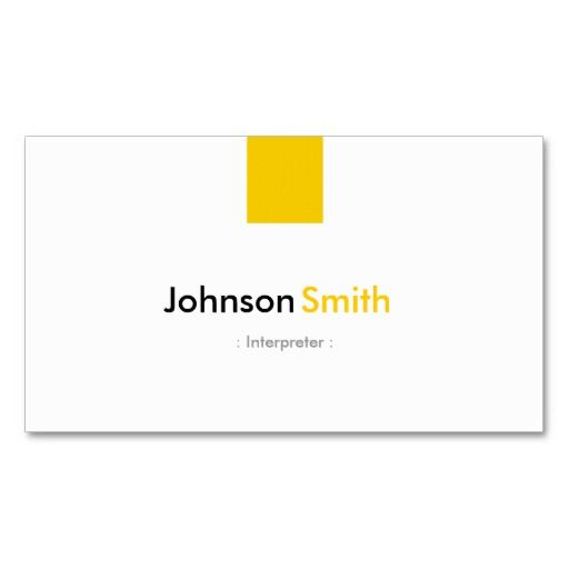 201 best images about Interpreter Business Cards on