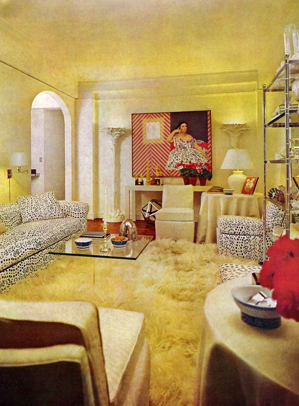 70s Actress Joey Heathertons White NYC Apartment