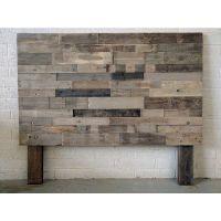 25+ best ideas about Reclaimed wood headboard on Pinterest ...