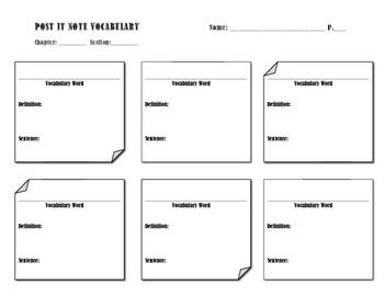 17 Best images about post-it note printables on Pinterest
