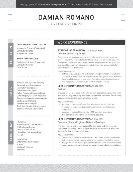 17 best images about Resume Templates on Pinterest  Cover letter template Resume cv and Products
