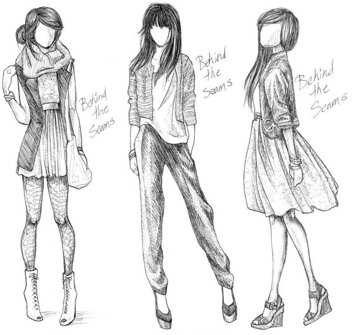 17 Best ideas about Fashion Design Drawings on Pinterest