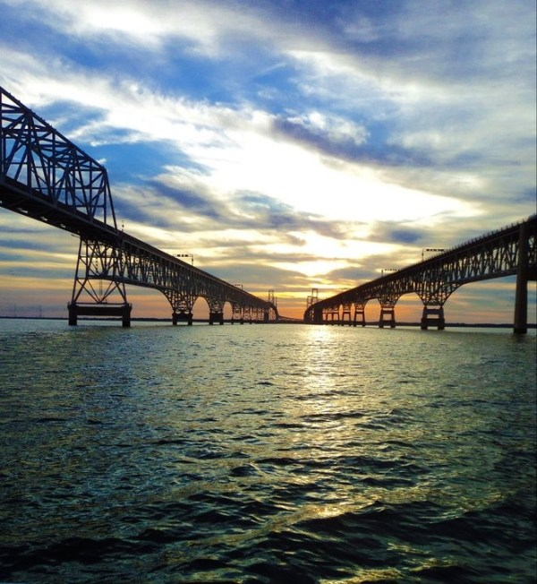 25 bästa idéerna om Chesapeake bay bridge på Pinterest