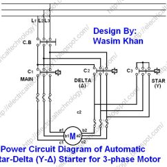 3 Phase Motor Starter Wiring Diagram Pdf 5 Axis Cnc Breakout Board The Star-delta (y-Δ) 3-phase Starting Method By Automatic With Timer ...