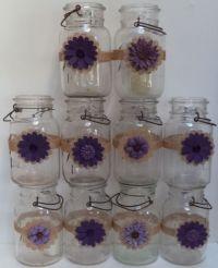 10+ ideas about Mason Jar Burlap on Pinterest | Bridal ...