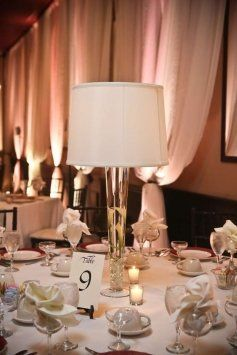 17 Best Images About Lampshade Centerpieces On Pinterest