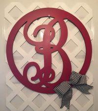 17 Best ideas about Monogram Door Hangers on Pinterest ...