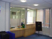 reception area sliding glass windows - Google Search ...