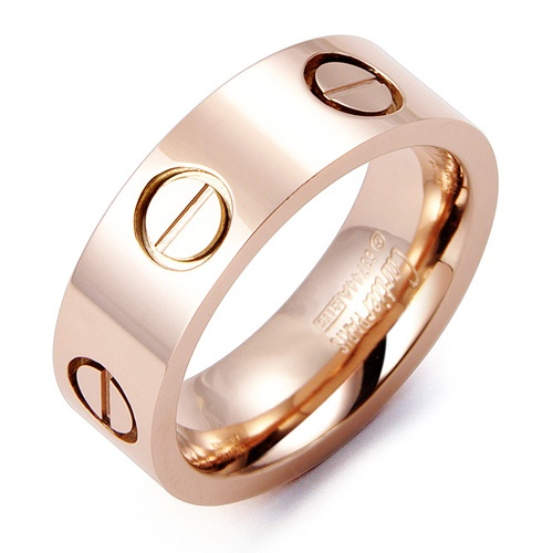 Cartier Love Ring in Rose Gold