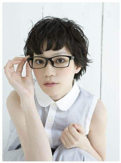 25 Best Images About Short Hair Glasses On Pinterest Short