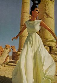 vintage ancient greek inspired gown by malcolm starr (1965 ...