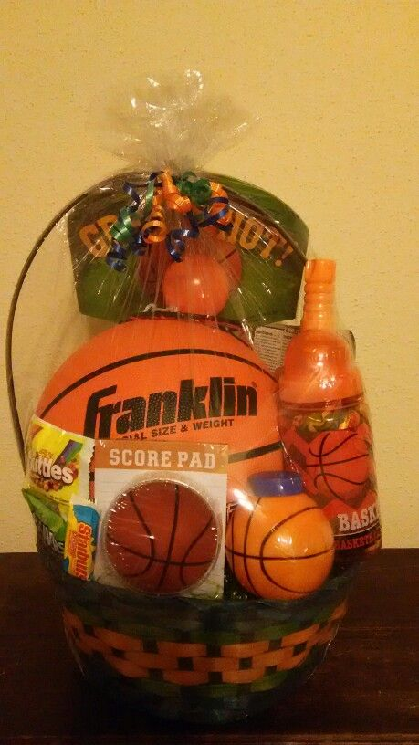 Basketball Easter Basket Basket Business Pinterest