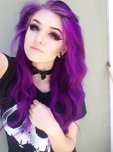 25 Best Ideas About Bright Hair Colors On Pinterest Crazy