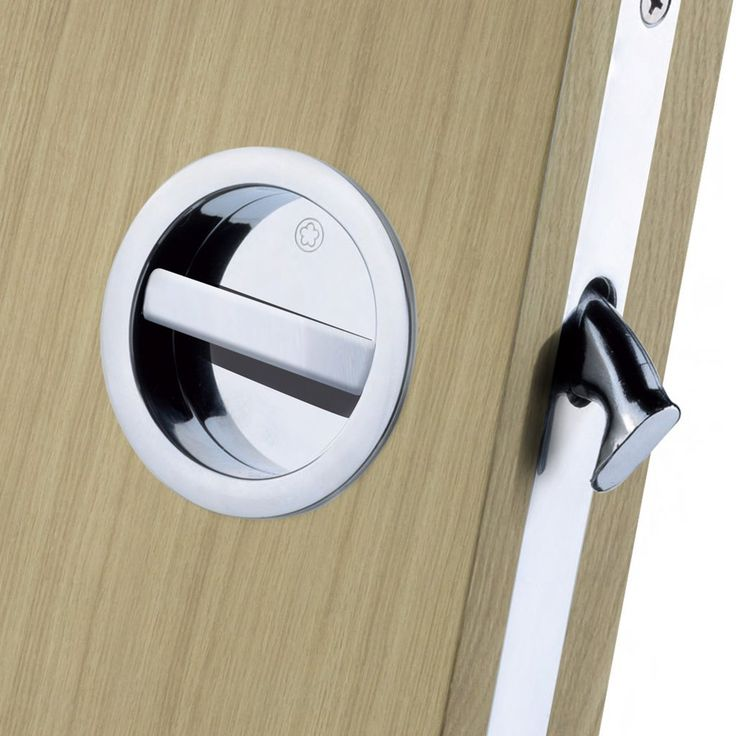 European Manital ART55B Sliding Door Bathroom Lock Set