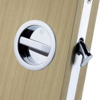 European Manital ART55B Sliding Door Bathroom Lock Set
