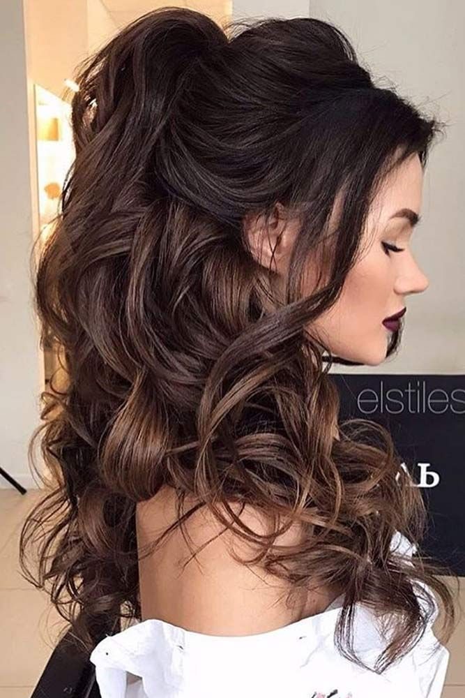 25 Best Ideas About Long Hair Updos On Pinterest Updo For Long