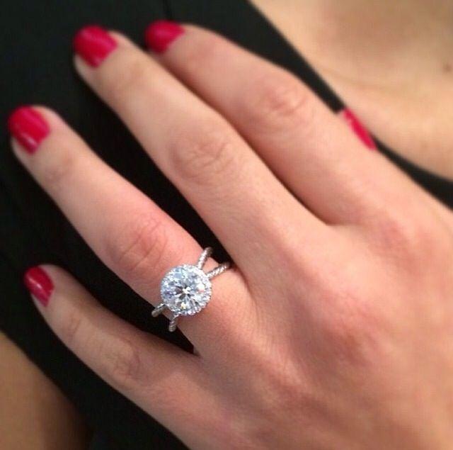 David Yurman Crossover Engagement Ring Country Wedding