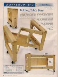 Folding Garage / Work Table | Home - Garage | Pinterest ...