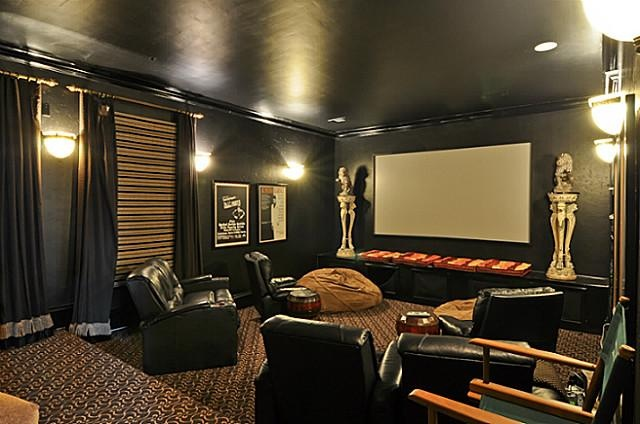 Want to add color to a room but don't want to make a big commitment? 27 Best images about Media Room on Pinterest | Sofa chair ...