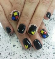 nfl pittsburgh steelers nails