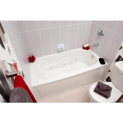 Mirolin Sydney Acrylic Skirted Whirlpool Tub 60 Inch X