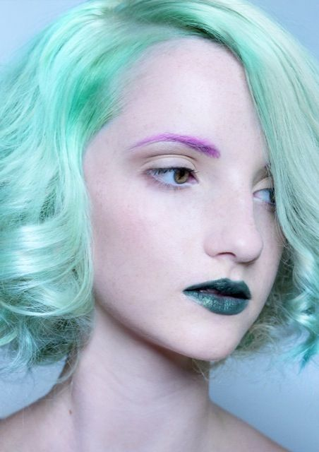 193 best images about Watercolour Hair on Pinterest