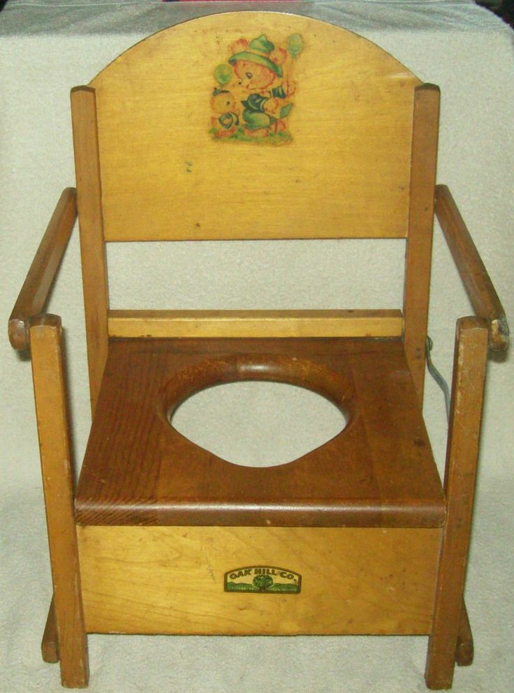 1000 images about vintage potty chair on Pinterest