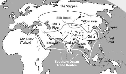 Map And Quick Info For Ancient India And China Unit 1 3